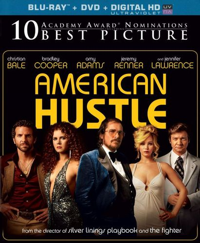 American Hustle [2 Discs] [Includes Digital Copy] [UltraViolet] [Blu-ray/DVD] [2013] 3924079