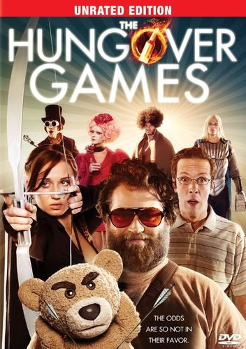 The Hungover Games [Unrated] [DVD] [2014] 3924088
