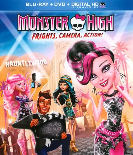 Monster High: Frights, Camera, Action! [Blu-ray/DVD] [2 Discs] [2014] 3927003