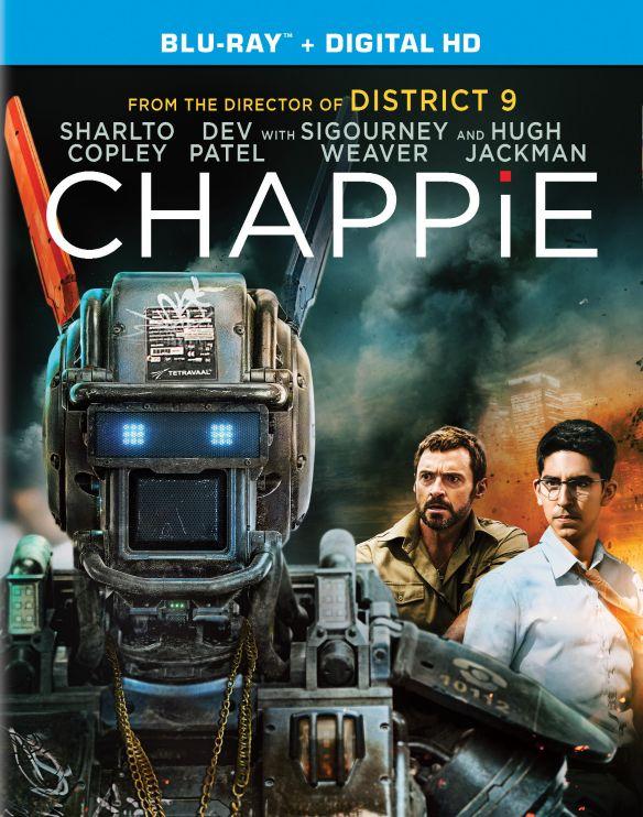 Chappie [With Digital Copy] [UltraViolet] [Blu-ray] [2015] 3945033