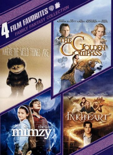 Family Fantasy Collection: 4 Film Favorites [4 Discs] [DVD] 3953543