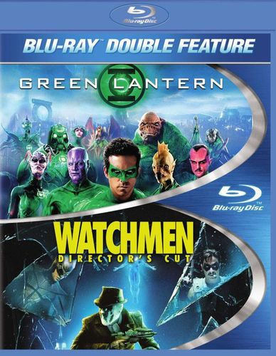 The Green Lantern/The Watchmen [2 Discs] [Blu-ray] 3953589