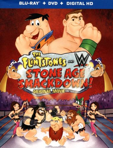 The Flintstones and WWE: Stone Age SmackDown [Blu-ray] [2015] 3953625