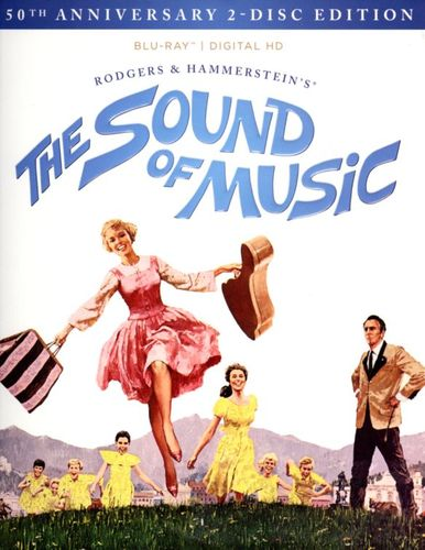 The Sound of Music [50th Anniversary 2-Disc Edition] [2 Discs] [Includes Digital Copy] [Blu-ray] [1965] 3957057