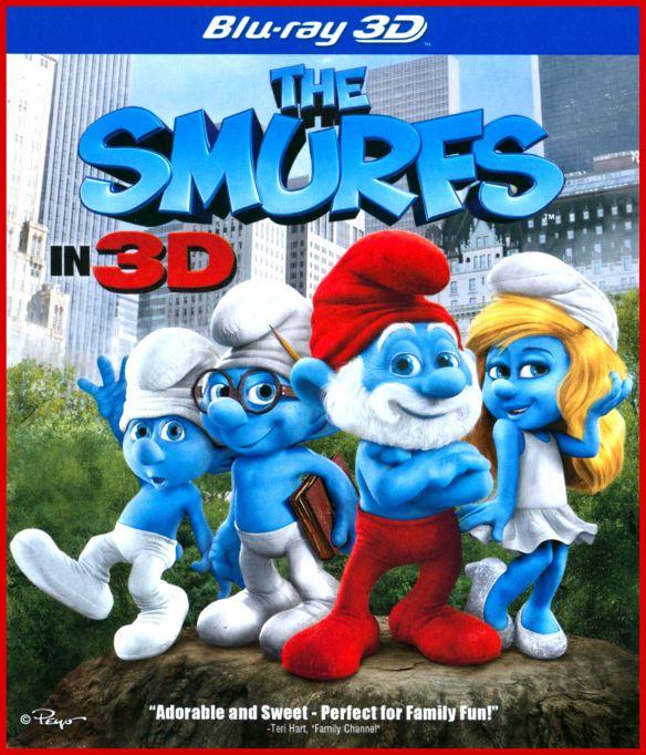 The Smurfs in 3D [3 Discs] [3D] [Blu-ray/DVD] [Includes Digital Copy] [UltraViolet] [Blu-ray/Blu-ray 3D/DVD] [2011] 3968078