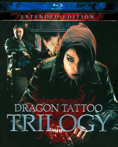 The Girl With the Dragon Tattoo Trilogy [Extended Edition] [4 Discs] [Blu-ray] 3968209