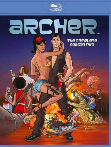 Archer: Season 2 [2 Discs] [Blu-ray] 3977088