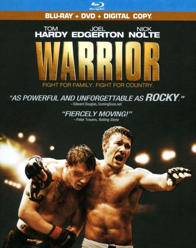 Warrior [2 Discs] [Includes Digital Copy] [Blu-ray/DVD] [2011] 3978087