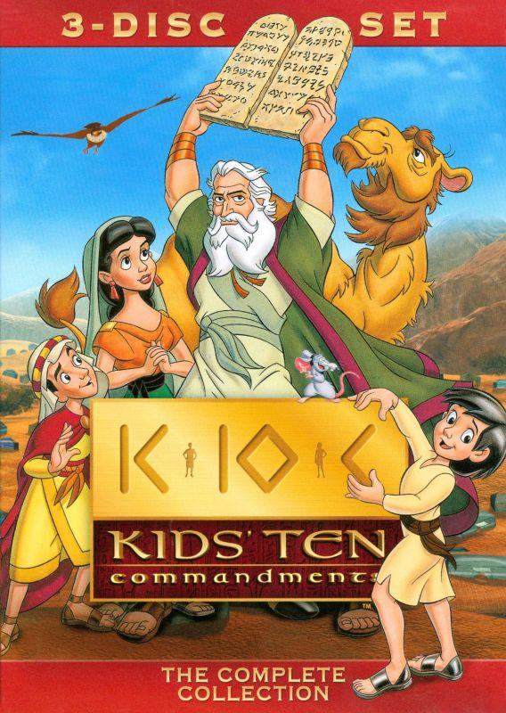 Kids' Ten Commandments [3 Discs] [DVD] 3980229