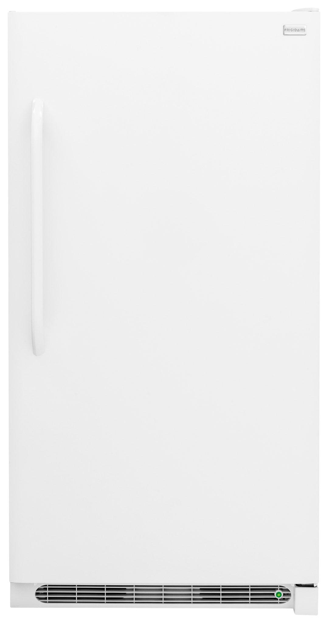 Frigidaire FFFU21M1Q White 34u0022 Wide 21 Cu. Ft. Upright Freezer