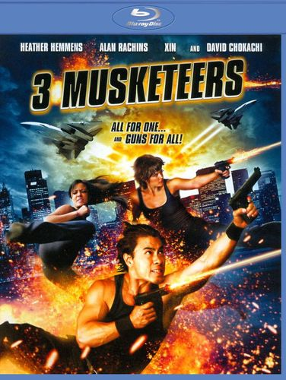 3 Musketeers [Blu-ray] [2011] 4001798