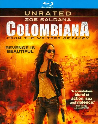 Colombiana [Unrated] [Blu-ray] [Includes Digital Copy] [UltraViolet] [2011] 4025537
