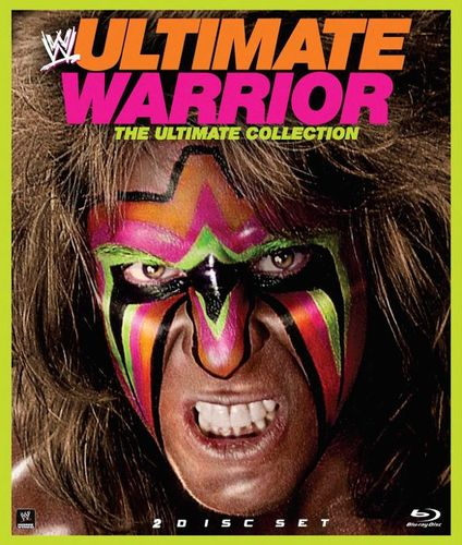 WWE: Ultimate Warrior [2 Discs] [Blu-ray] [2014] 4054037