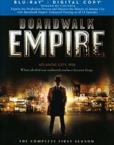 Boardwalk Empire: The Complete First Season [5 Discs] [Blu-ray] 4061012