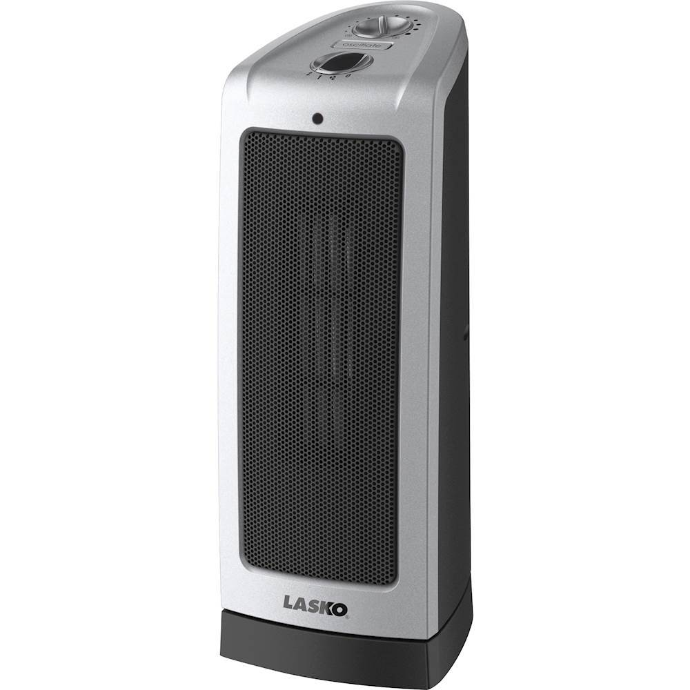 Lasko Oscillating Ceramic Tower Heater Gray 5307