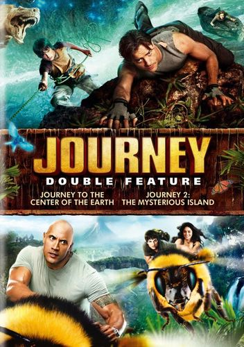 Journey to the Center of the Earth/Journey 2: The Mysterious Island [2 Discs] [DVD] 4077034