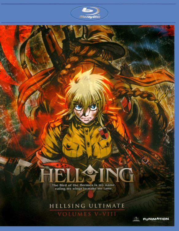 Hellsing Ultimate, Vols. 5-8 [5 Discs] [Blu-ray/DVD] 4089069