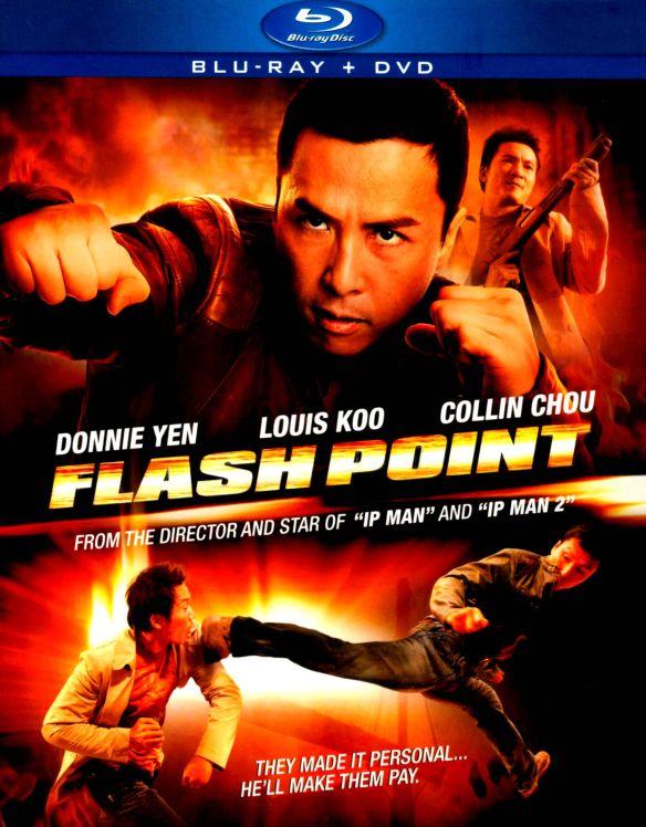 Flash Point [2 Discs] [Blu-ray/DVD] [2007] 4105092