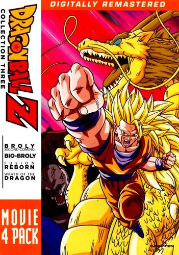 DragonBall Z: Movie 4 Pack - Collection Three [4 Discs] [DVD] 4105214