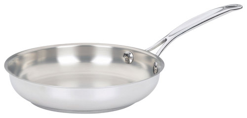 "Cuisinart - Chef's Classic 8"" Skillet - Stainless-Steel 4114133"