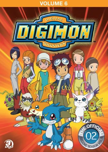 Digimon: Digital Monsters - The Official Second Season, Vol. 6 [3 Discs] [DVD] 4130333