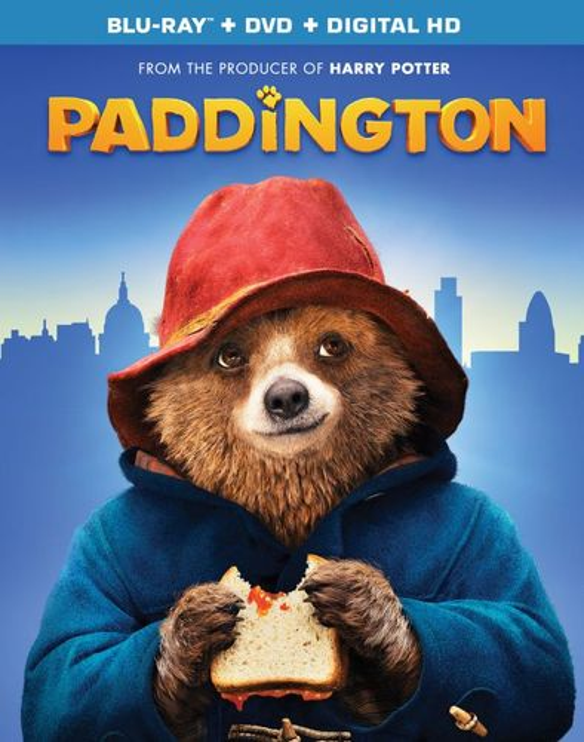 Paddington [2 Discs] [Includes Digital Copy] [UltraViolet] [Blu-ray/DVD] [2014] 4131017