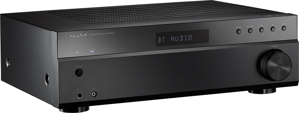 Insigniatrade 200w 20 ch stereo receiver black corporate product image sciox Gallery