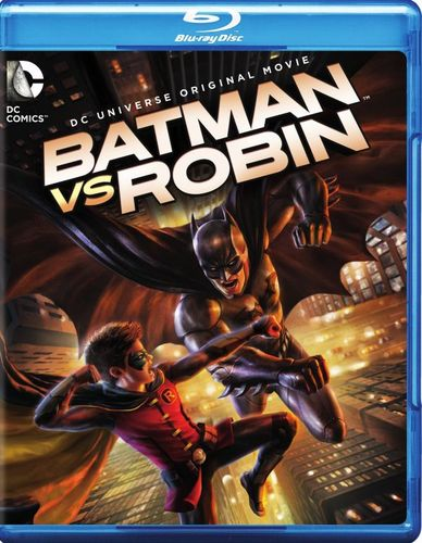 Batman vs. Robin [2 Discs] [Includes Digital Copy] [UltraViolet] [Blu-ray/DVD] [2015] 4162083