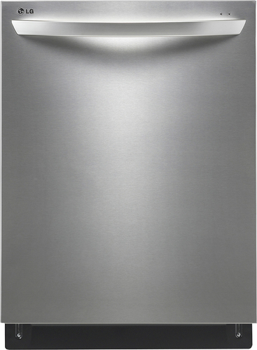 """LG - 24"""" Tall Tub Built-In Dishwasher with Stainless Steel Tub - Stainless Steel"""