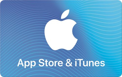 Apple - $50 App Store & iTunes Gift Card [E-mail delivery] One card, millions of ways to enjoy it. Use for apps, games, music, movies, and iCloud