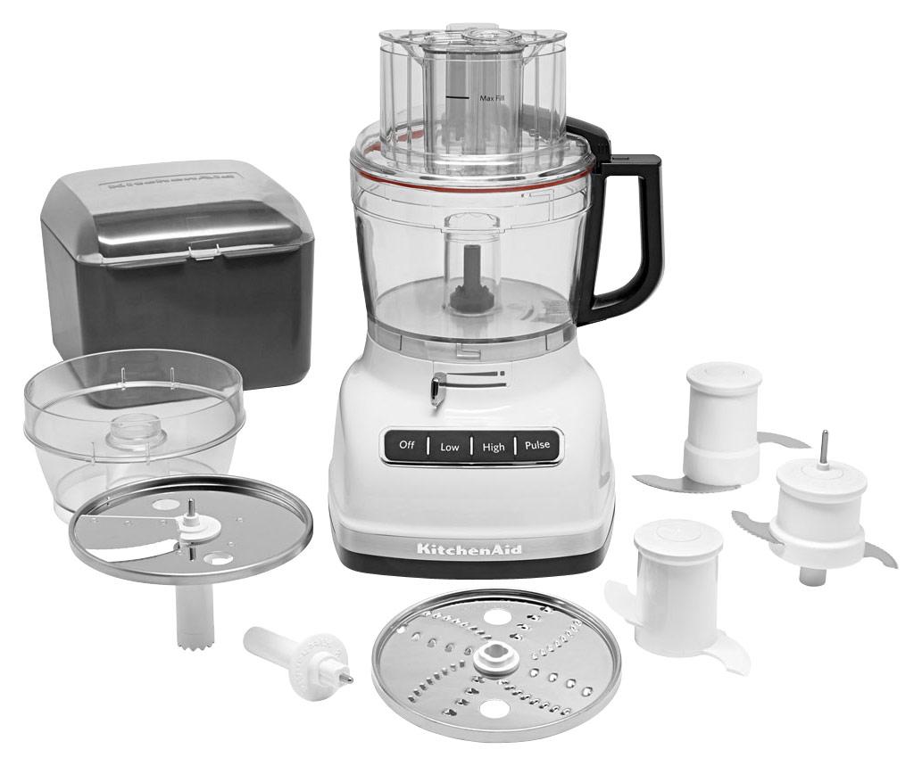 KitchenAid - KFP1133WH 11-Cup Food Processor - White