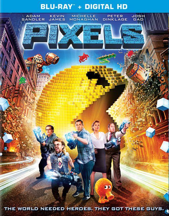 Pixels [Blu-ray] [2015] 4212200