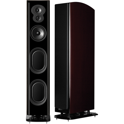 "Polk Audio - 5"" 250W Floorstanding Loudspeaker (Each) - Midnight Mahogany"