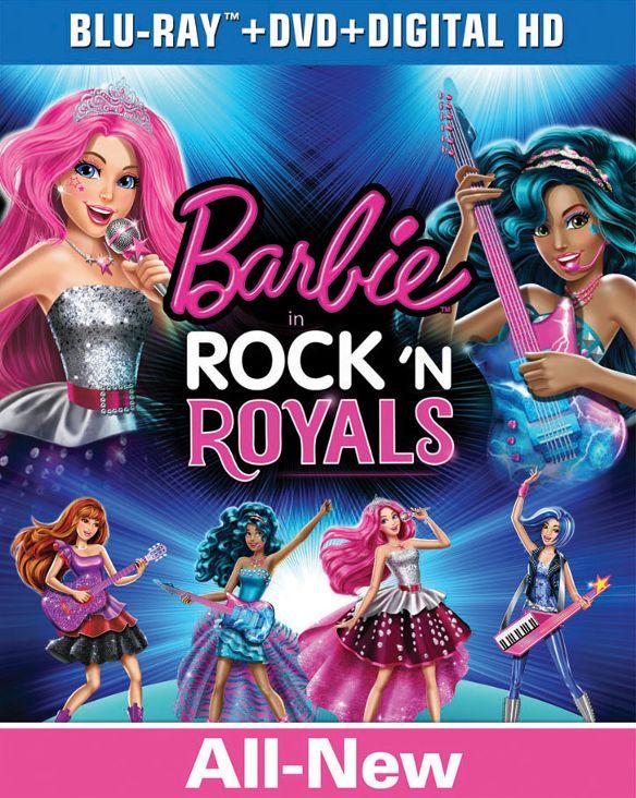 Barbie in Rock 'N Royals [Includes Digital Copy] [UltraViolet] [Blu-ray/DVD] [2 Discs] [2015] 4224700