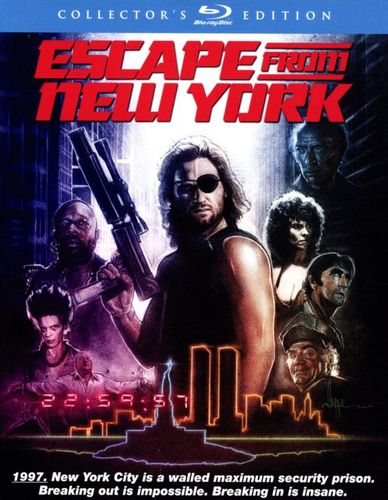 Escape from New York [Collector's Edition] [2 Discs] [Blu-ray] [1981] 4238025