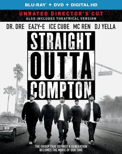 Straight Outta Compton [Includes Digital Copy] [Blu-ray/DVD] [2015] 4238027