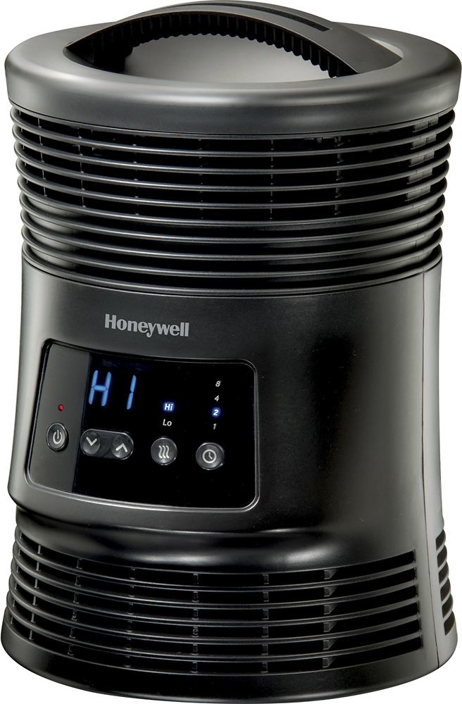 Honeywell HHF370B Digital Fan-Forced Heater Black