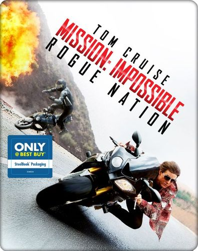 Mission: Impossible - Rogue Nation [Includes Digital Copy] [Blu-ray/DVD] [SteelBook] [2015] 4253604