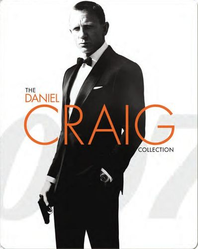The Daniel Craig Collection [Movie Money] [With Digital Copy] [Blu-ray] [SteelBook] [Only @ Best Buy] 4255500