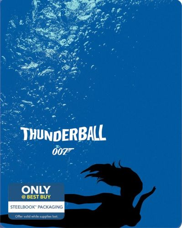 Thunderball [Includes Digital Copy] [Blu-ray] [SteelBook] [Only @ Best Buy] [1965] 4255502