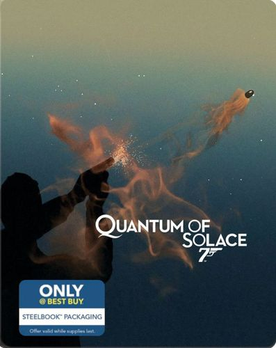 Quantum of Solace [Includes Digital Copy] [Blu-ray] [SteelBook] [Only @ Best Buy] [2008] 4255504