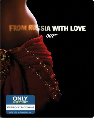 From Russia with Love [Includes Digital Copy] [Blu-ray] [SteelBook] [Only @ Best Buy] [1963] 4255505