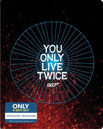 You Only Live Twice [Includes Digital Copy] [Blu-ray] [SteelBook] [Only @ Best Buy] [1967] 4255506