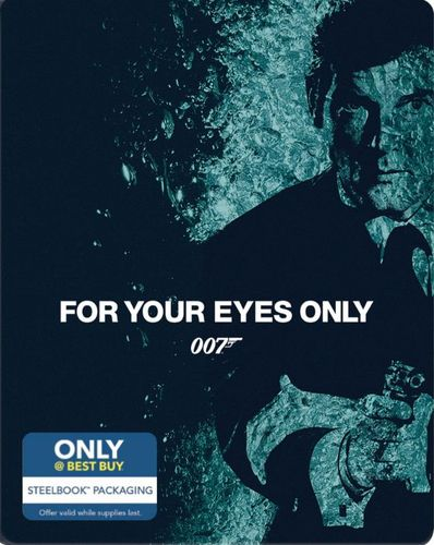 For Your Eyes Only [Includes Digital Copy] [Blu-ray] [SteelBook] [Only @ Best Buy] [1981] 4255509