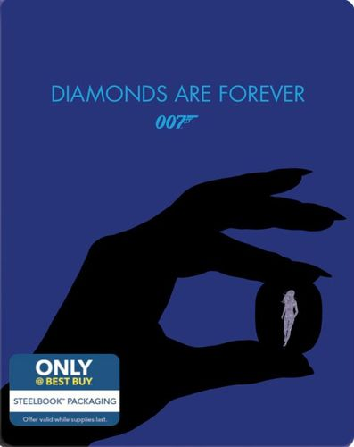Diamonds Are Forever [Includes Digital Copy] [Blu-ray] [SteelBook] [Only @ Best Buy] [1971] 4255511