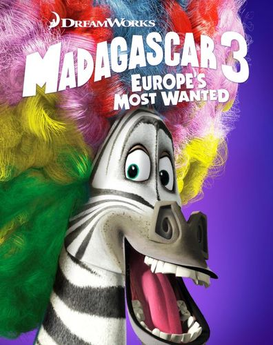 Madagascar 3: Europe's Most Wanted [Blu-ray/DVD] [2 Discs] [2012] 4258901