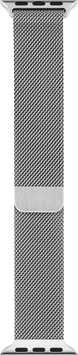 Apple - Milanese Loop for Apple Watch™ 42mm - Stainless Steel