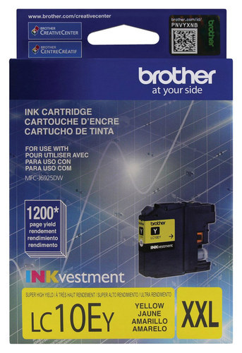 Brother - LC10EY XL High-Yield...