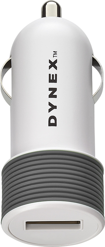 Dynex™ - Vehicle Charger - Cool Gray