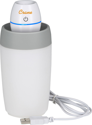 Crane - Ultrasonic Cool Mist Travel Humidifier - White 4291800